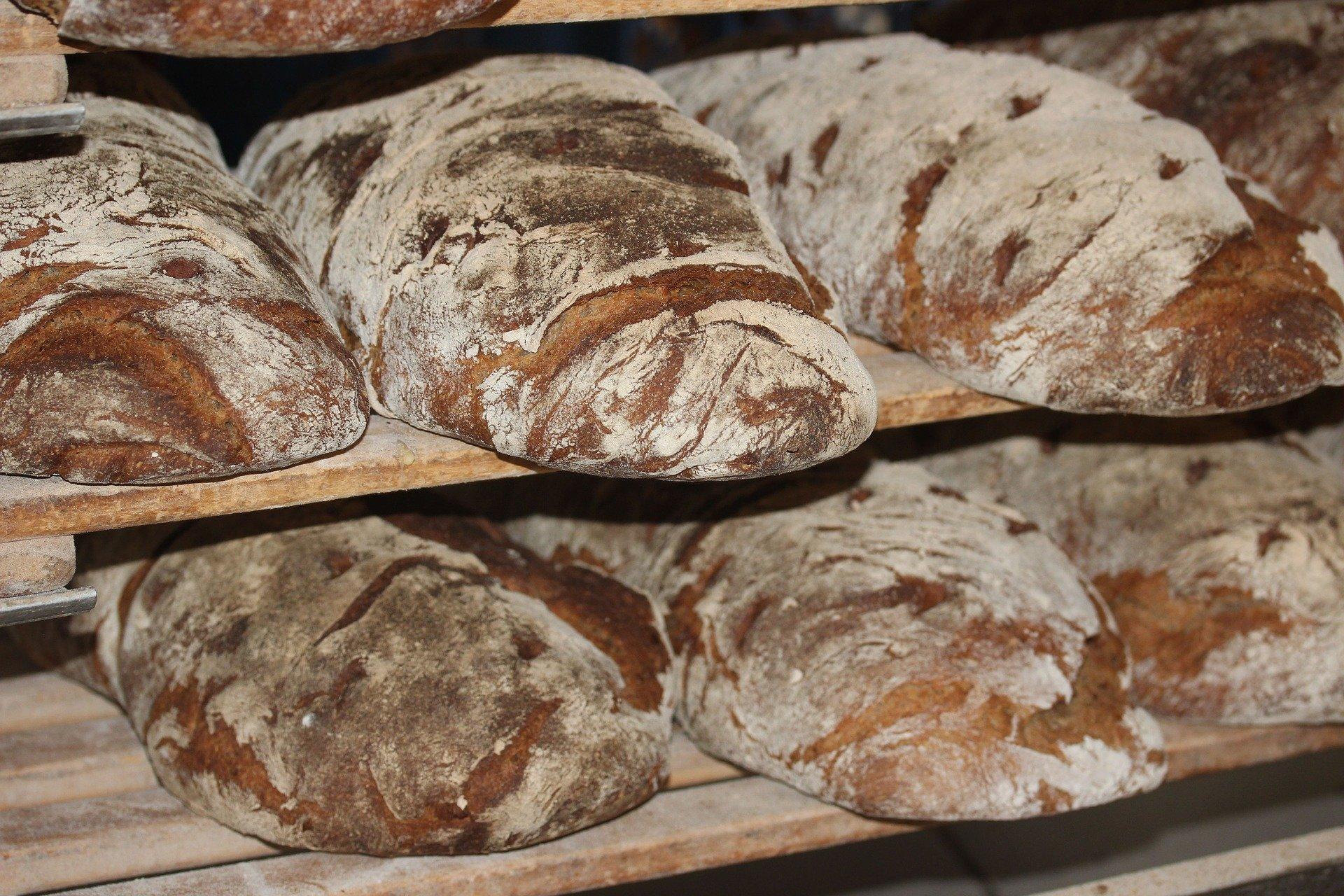 Выпечка, ржаной хлеб